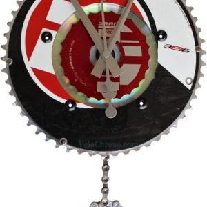 horloge decorative, velo horloge pendule murale, velo design, cyclisme, velo cadeau, eco-horloge, bike clock, cycling, ecofriendly gift, FSA, recycled bicycle gear desk clock, upcycled clock, bicycle clock, cycling gift,