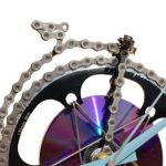 horloge decorative, velo horloge de bureau, velo design, cyclisme, velo cadeau, eco-horloge, bike clock, cycling, ecofriendly gift, FSA, recycled bicycle gear desk clock, upcycled clock, bicycle clock, cycling gift, velo grand-bi