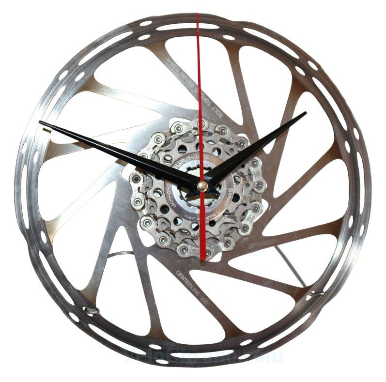v lo horloge de bureau avec d 39 une frein disque shimano velochrono. Black Bedroom Furniture Sets. Home Design Ideas