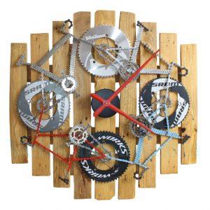 velo tableau, velo horloge, velo tableau horloge, velo panneau, velo design, cyclisme, velo cadeau, eco-cadeau, bike gift, cycling, ecofriendly gift, cycling gift, tableau decorative,