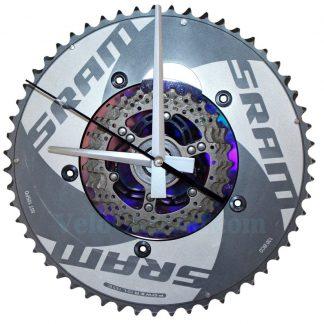 Velo horloge murale avec plateau SRAM, Modele 061