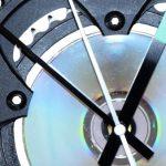 Velo horloge murale avec plateau SRAM, Modele 063