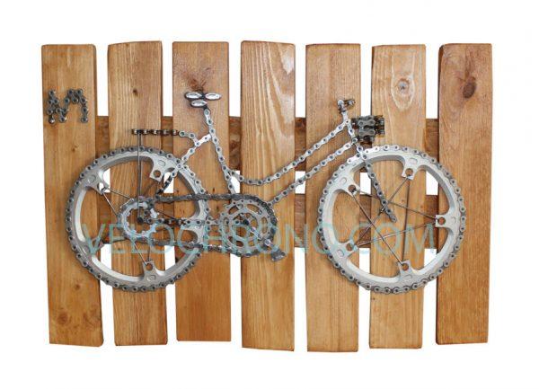 velo tableau, velo panneau, velo de ville avec panier, velo design, cyclisme, velo cadeau, eco-cadeau, bike gift, cycling, ecofriendly gift, cycling gift, tableau decorative